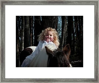The Little Princess Framed Print by Terry Kirkland Cook