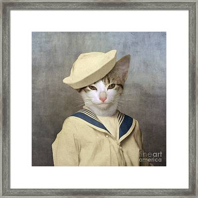The Little Rascal Framed Print by Martine Roch