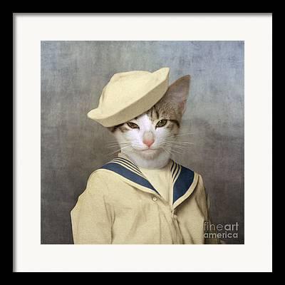 Sailor Hat Framed Prints