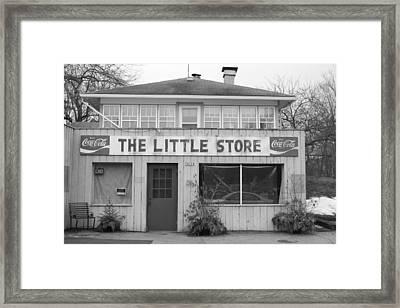The Little Store Framed Print by Lauri Novak
