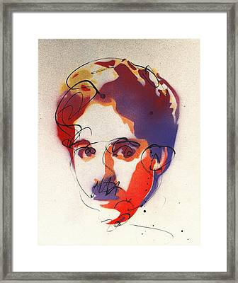 The Little Tramp Framed Print