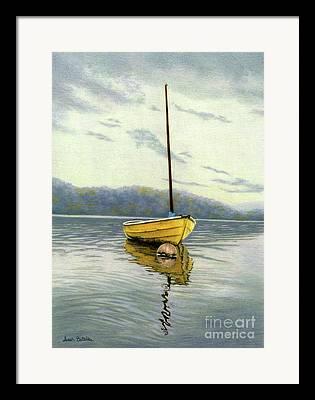 Cape Cod Fishing Boat Framed Prints