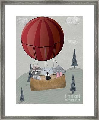 The Littlest Adventure Framed Print