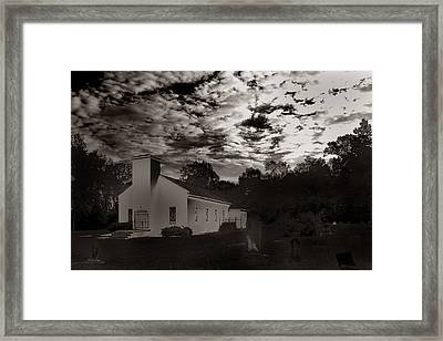 Framed Print featuring the photograph The Living And The Dead by Joseph G Holland