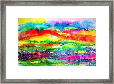 The Living Desert Framed Print