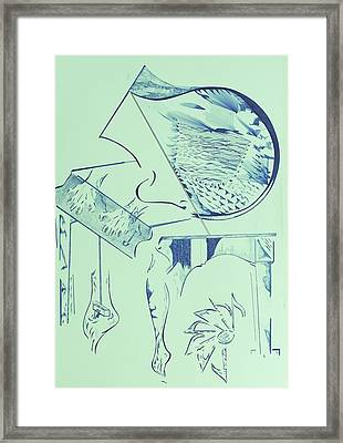 The Living Machine Framed Print by Contemporary Michael Angelo