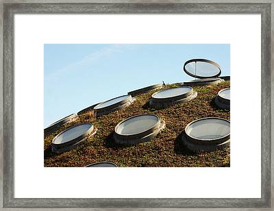 The Living Roof Framed Print by Art Block Collections