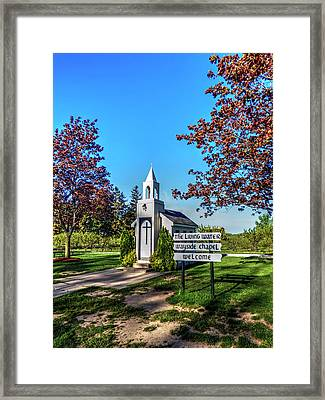 The Living Water Wayside Chapel Framed Print