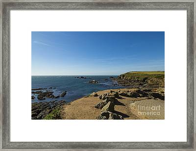 Framed Print featuring the photograph The Lizard Point by Brian Roscorla