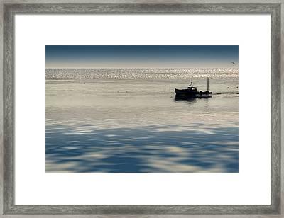 The Lobster Boat Framed Print