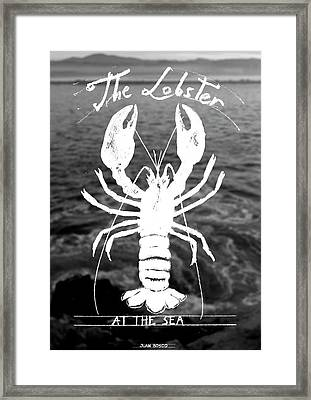 The Lobster Framed Print