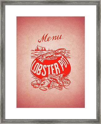 The Lobster Pot 1960s Framed Print
