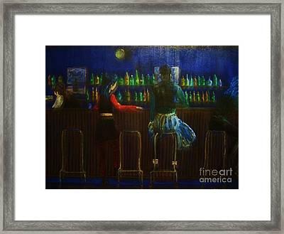 The Local Bar Framed Print