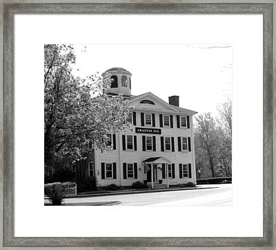 The Local Pub Framed Print by Jim Greer