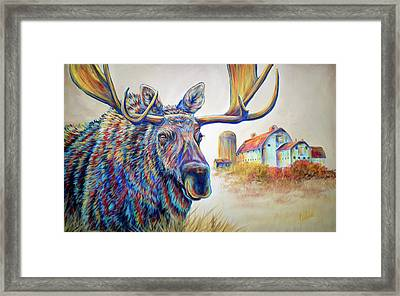 The Local Framed Print by Teshia Art