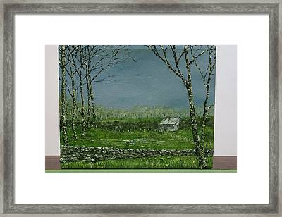 The Lock Less Door Framed Print by Pauline Byrne