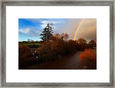 The Locks At Rathvinden That Enables Framed Print by Panoramic Images