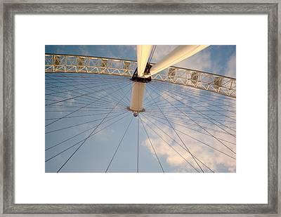 The London Eye Framed Print by Iain MacVinish