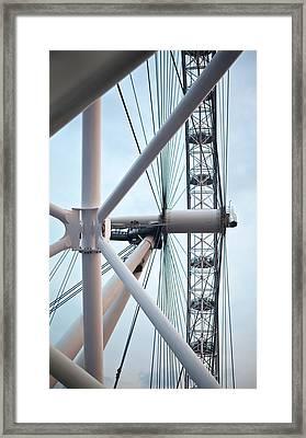 The London Eye Framed Print by Martin Howard