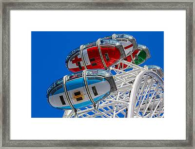 The London Eye Rugby World  Framed Print by David Pyatt