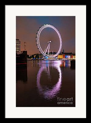 London Eye Framed Prints