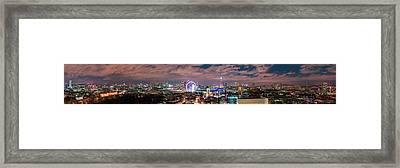 The London Skyline Framed Print