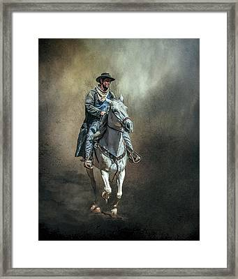 The Lone Drifter Framed Print by Brian Tarr