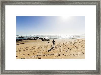 The Lone Explorer  Framed Print by Jorgo Photography - Wall Art Gallery