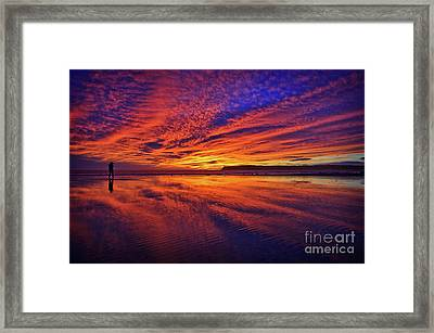 The Lone Photographer Framed Print