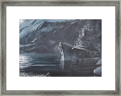 The Lone Queen Of The North Framed Print by Vincent Alexander Booth