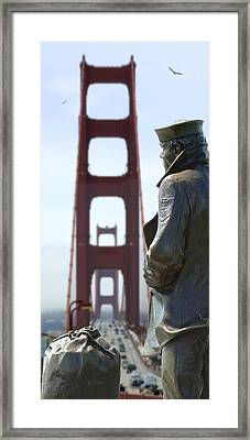 The Lone Sailor Framed Print by Mike McGlothlen