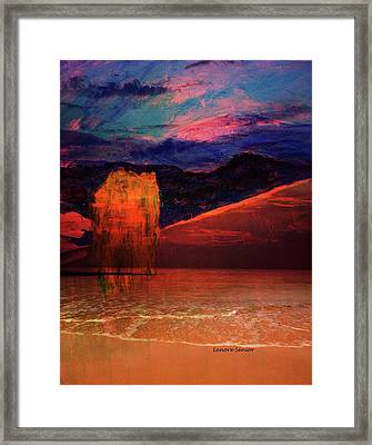 The Lone Willow Framed Print