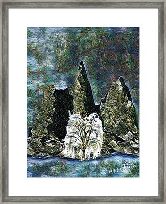 The Loneliest Tree Framed Print