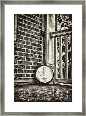 The Lonely Banjo Framed Print by Bill Cannon