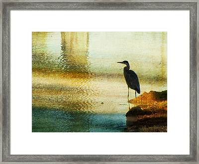 The Lonely Hunter II Framed Print by Amy Tyler