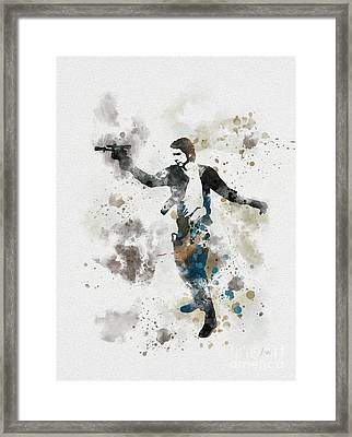 The Loner Framed Print