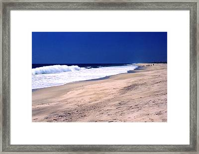 The Long Beach 2  Framed Print by Lyle Crump