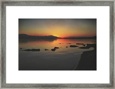The Long Goodnight Framed Print by Laurie Search