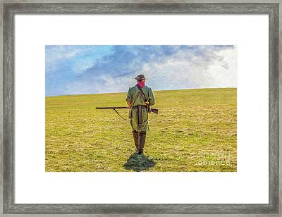 The Long Hunt Framed Print by Randy Steele