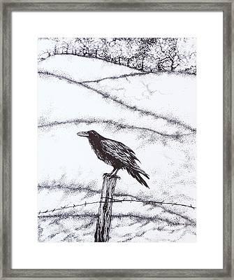 The Long Long Winter Framed Print