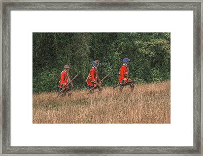 The Long March To Fort Pitt  Framed Print by Randy Steele