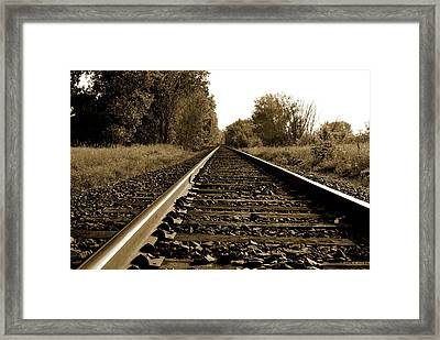 The Long Road Home Framed Print by Edward Congdon