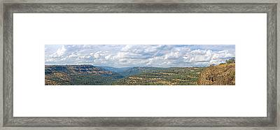 The Long View Framed Print by Charlie Osborn