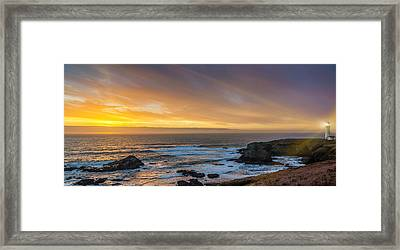 The Long View Framed Print