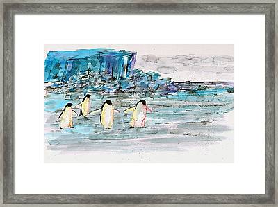 The Long Walk 2 Framed Print