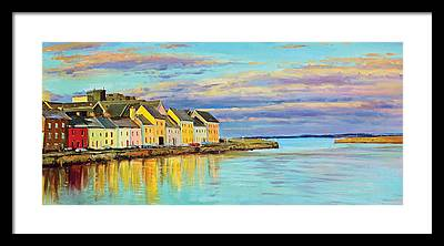 Galway Framed Prints