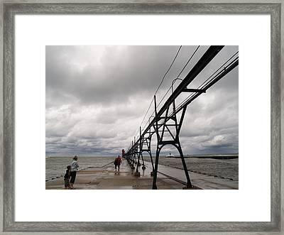 The Long Walk Framed Print by Jacob Stempky