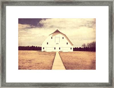 The Long Walk Framed Print by Julie Hamilton