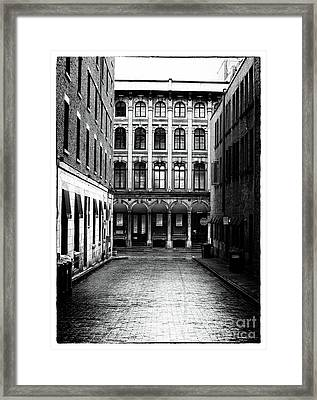 The Long Walk To The End Framed Print by John Rizzuto