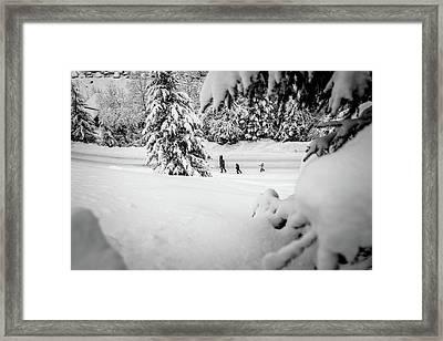 The Long Walk- Framed Print